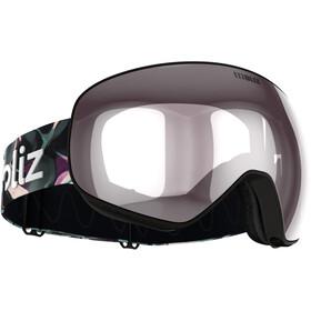 Bliz Floz Gafas, matt black/pink-silver mirror